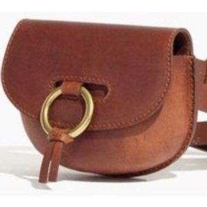 Madewell Lisbon O-ring Saddlebag Pouch fanny pack